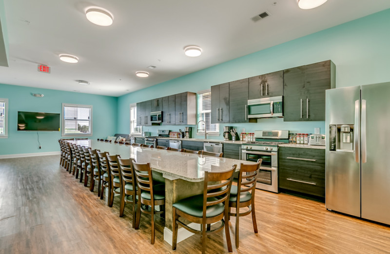 Guest kitchen at Together Resorts.