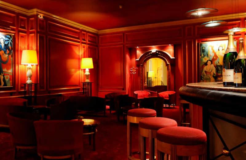Lounge at Grand Hôtel Concorde.