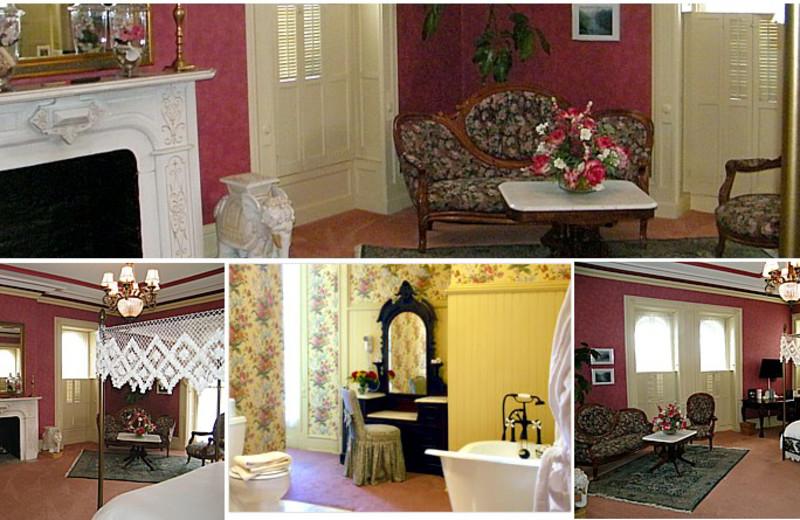 Kate Batcheller Room at Batcheller Mansion Inn Bed and Breakfast.