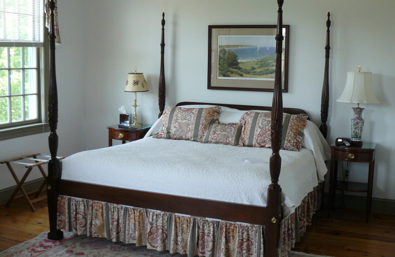 Guest room at Osprey Point.