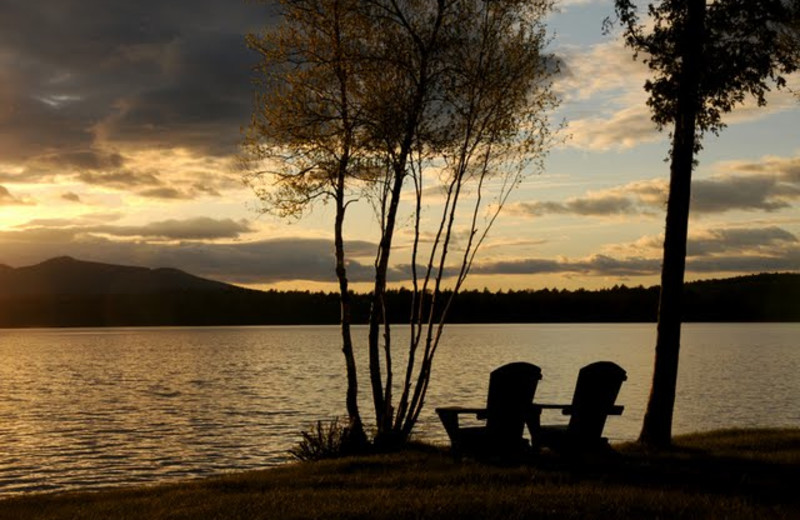 Relax by the Lake at Hohmeyer's Lake Clear Lodge.