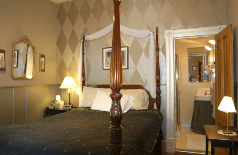 Guest room at Madison Street Bed & Breakfast.
