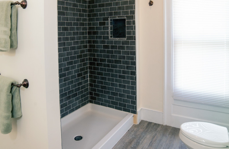 Master Bath at the Mott House (1 of 3 baths)