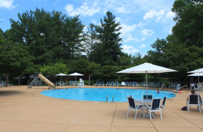 Pool at Boar's Head Resort.