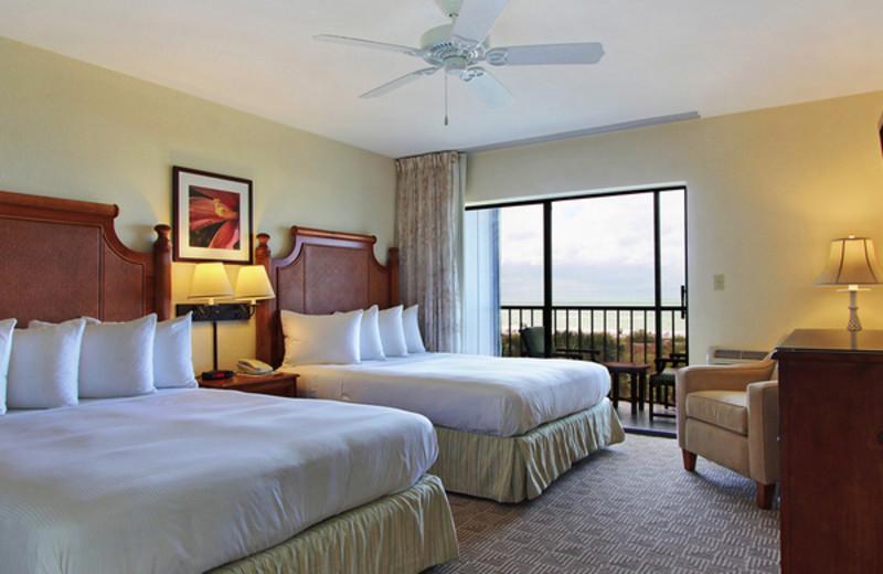 Guest room at Sanibel Inn.