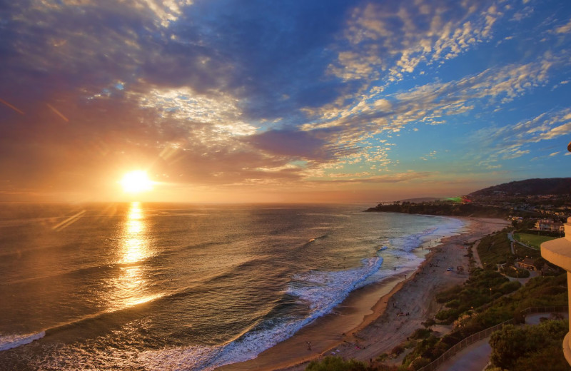 Sunset at The Ritz-Carlton, Laguna Niguel.