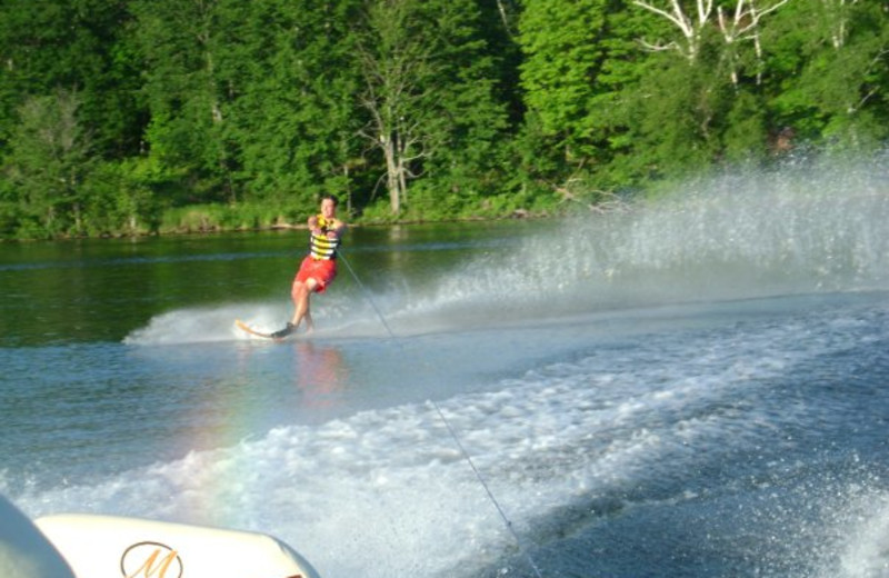 Water skiing at Recreational Rental Properties, Inc.