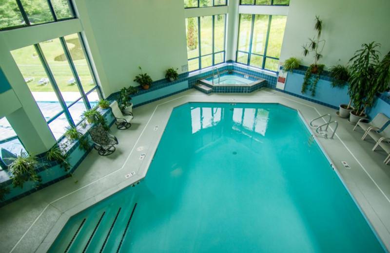 Rental indoor pool at The Killington Group.