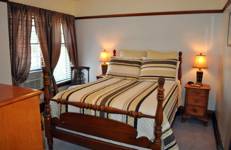 Guest room at Park Place.