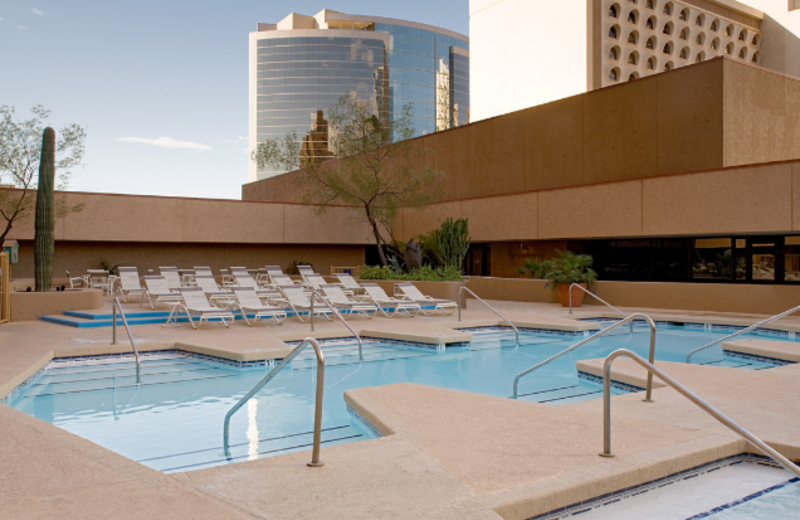 Swimming Pool at Hyatt Regency Phoenix