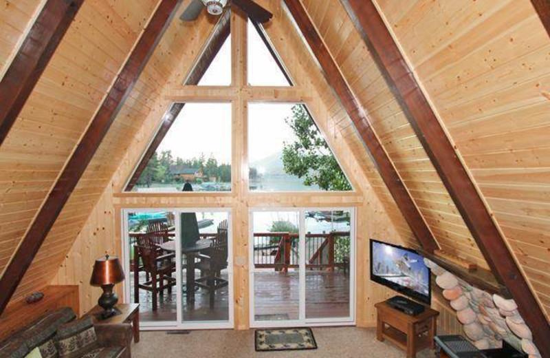 Rental loft at Big Bear Cool Cabins.