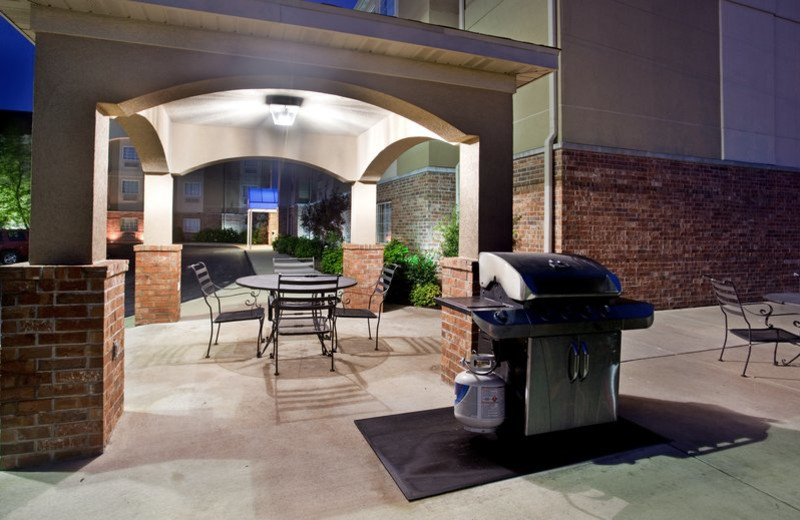 BBQ at Candlewood Suites St. Robert.