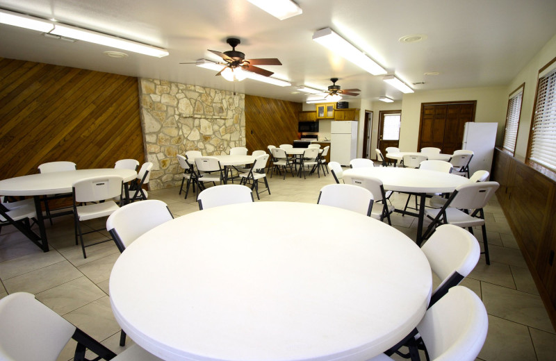 Meeting room at Peach Tree Inn & Suites.