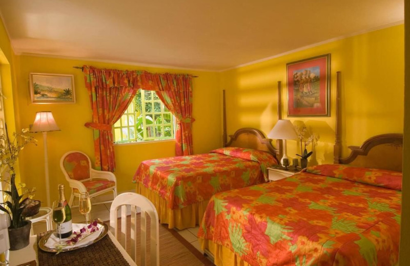 Guest room at Grand Pineapple Beach.
