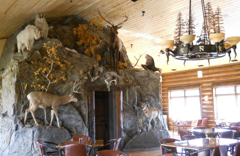 Bar N Ranch restaurant at Bar N Ranch.