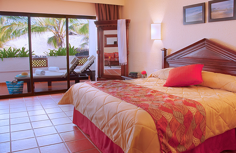 Guest room at Occidental Grand Punta Cana.