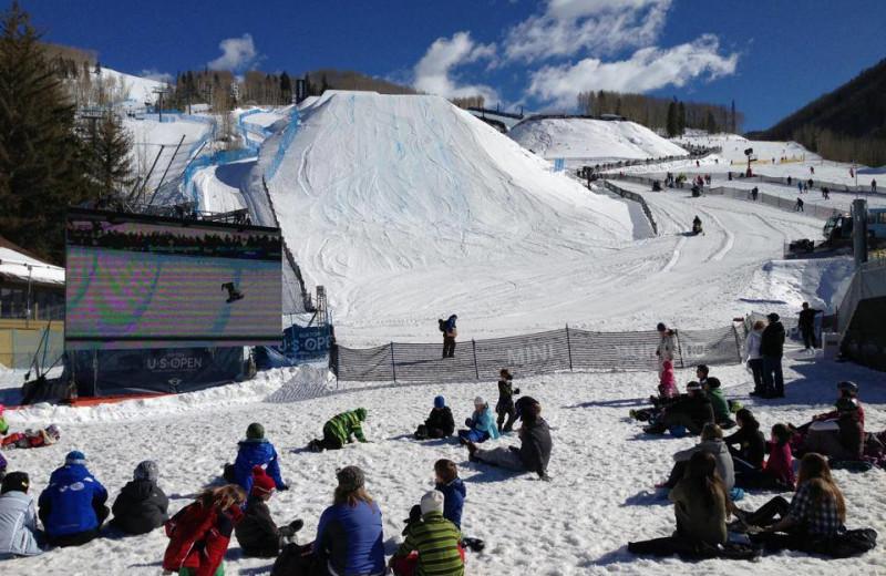 Skiing at Vail Mountain Lodge & Spa.