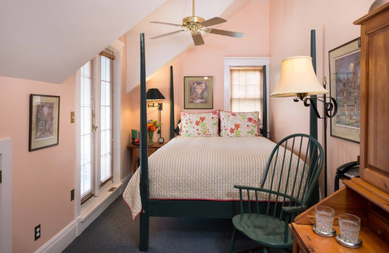 Guest room at Southmoreland on the Plaza Bed and Breakfast.