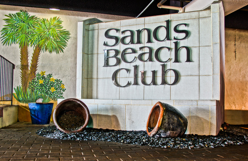 Exterior at Sands Resorts.
