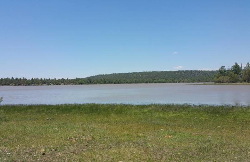 Lake near Hidden Rest Resort.