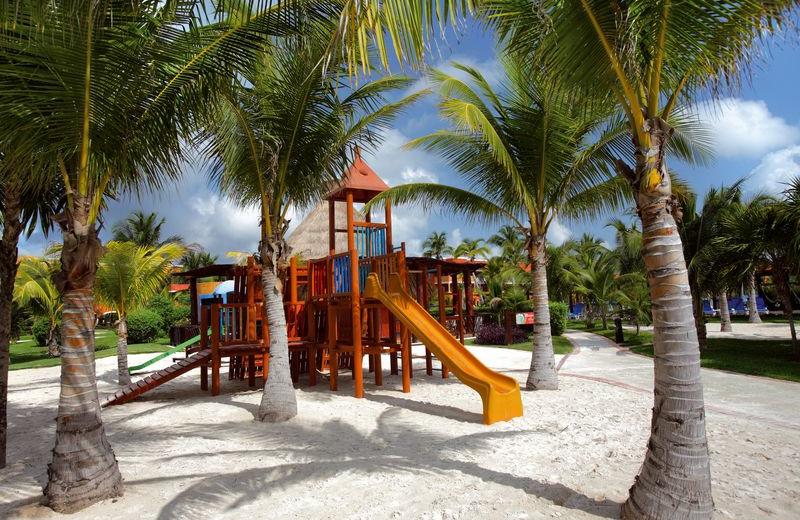 Playground at Barcelo Maya Beach Resort