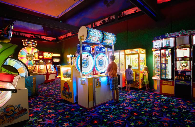 Arcade at Deerstalker Resort.