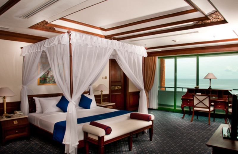Guest room at Grand Bali Beach Hotel.