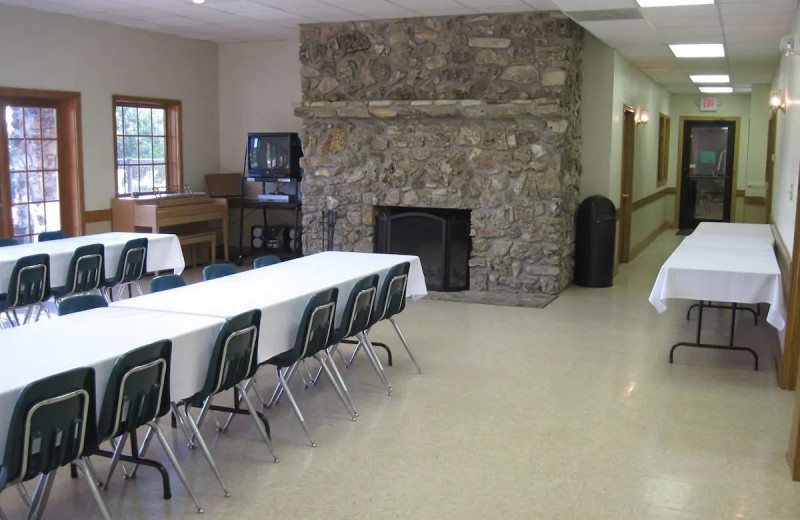 Meeting room at The Village At Indian Point Resort and Conference Center.