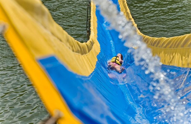 Water slide at ACE Adventure Resort.