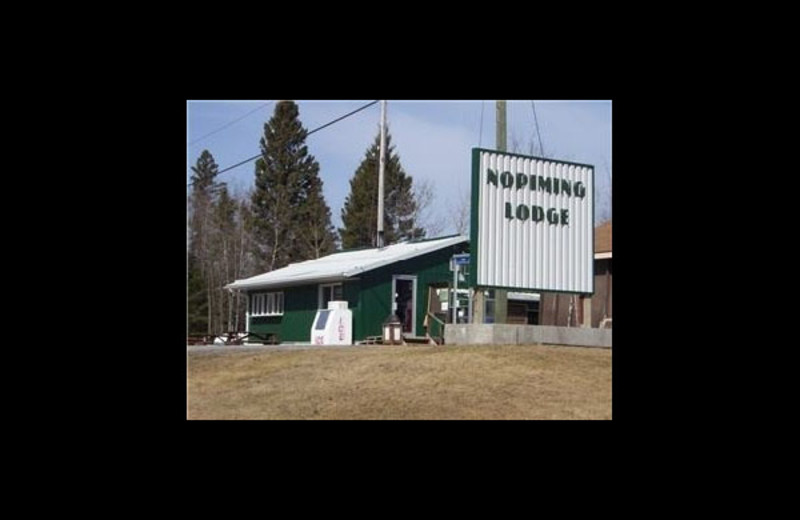 Exterior view of Nopiming Lodge.