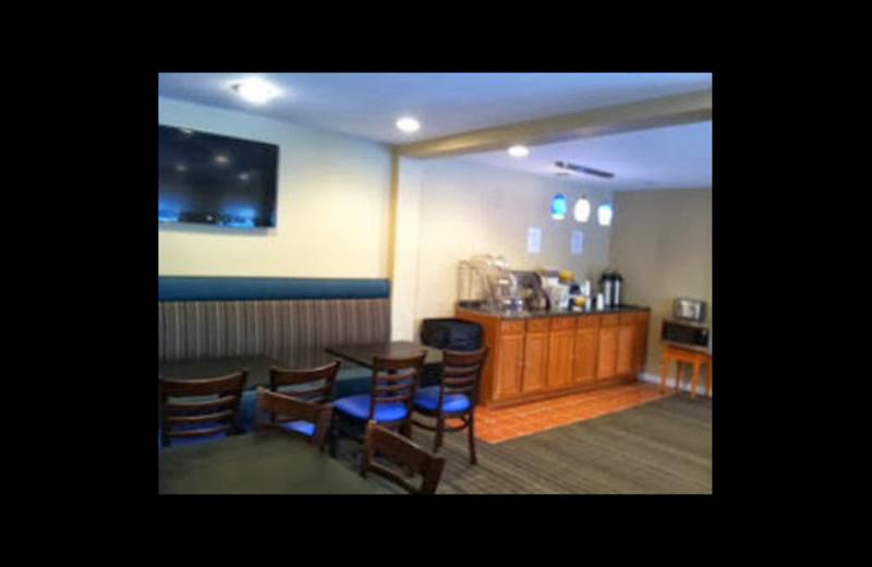 Breakfast area at Days Inn - Seaside Heights.