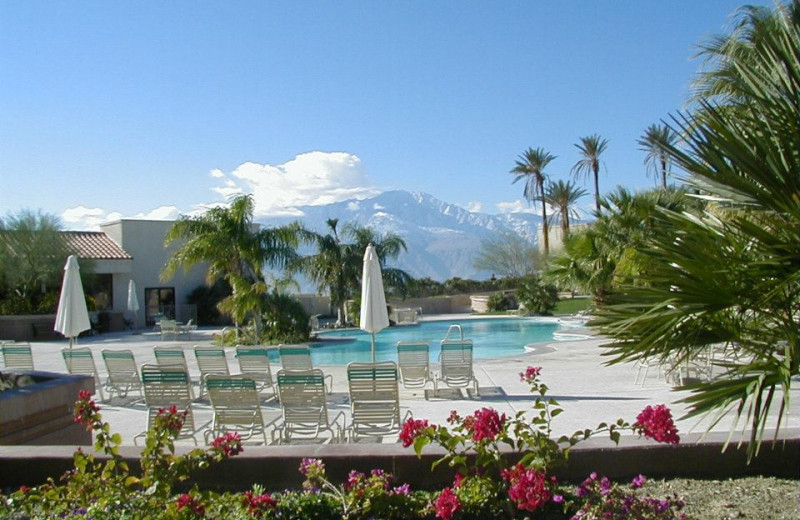 Outdoor pool at Miracle Springs Resort and Spa.