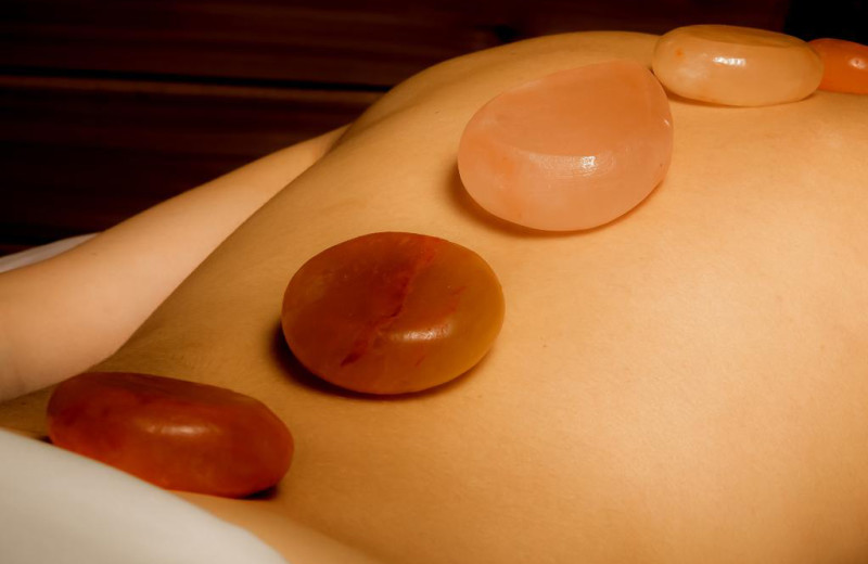 Stone massage at Red Mountain Resort & Spa.