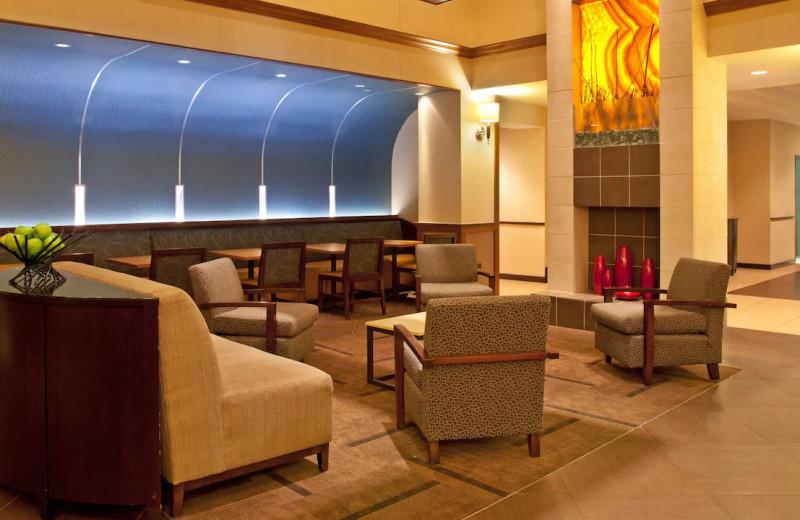 Lobby at Hyatt Place Chicago/Lombard/Oak Brook.