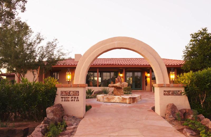 Spa at Rancho De Los Caballeros.