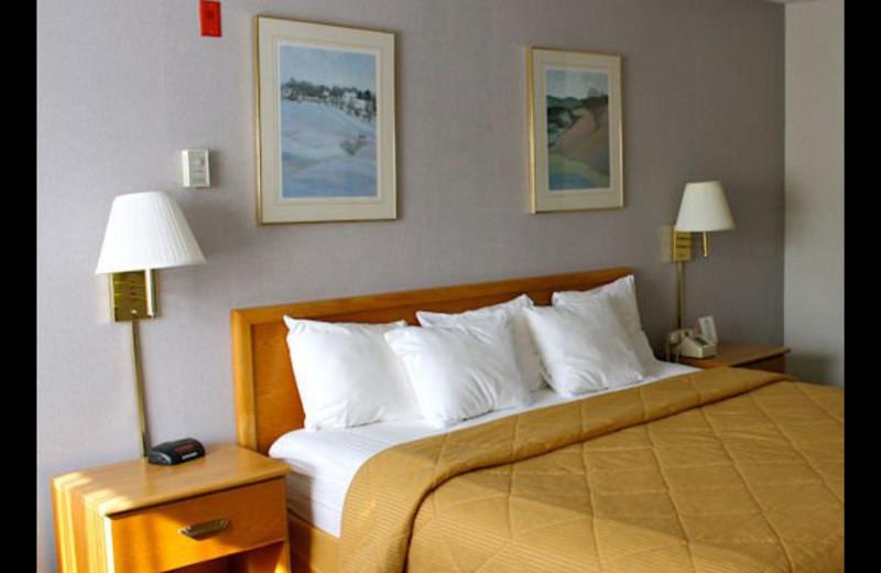 Guest room at Comfort Inn at Killington Center.