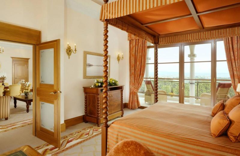 Guest room at Hotel Son Vida.
