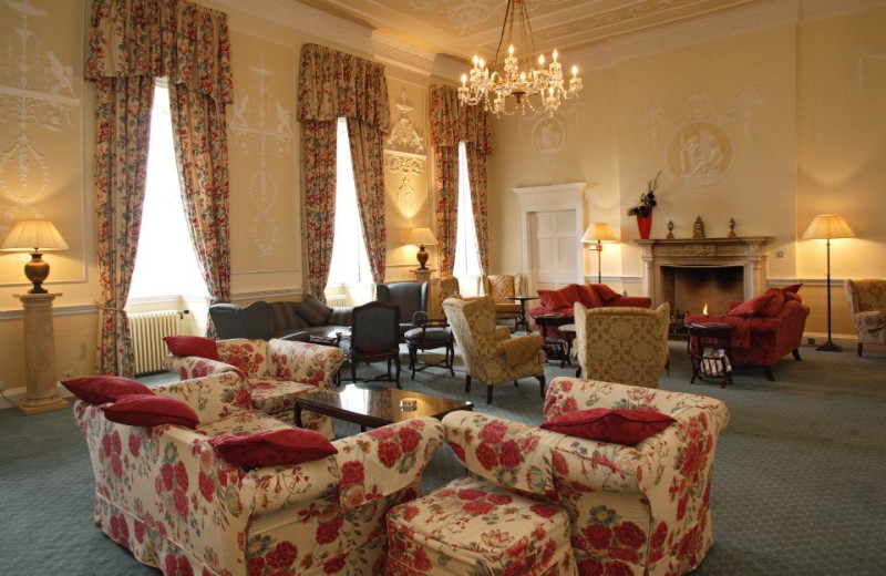 Lounge at Culloden House.