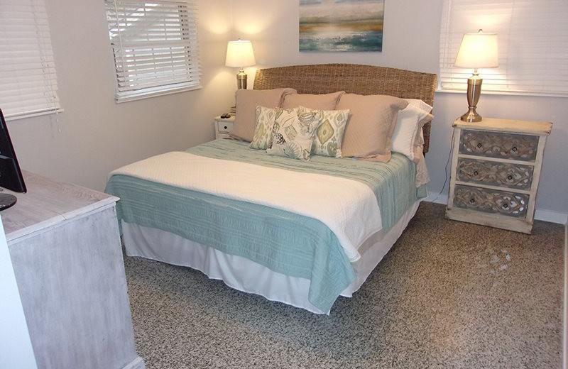 Rental bedroom at SSI Fun.