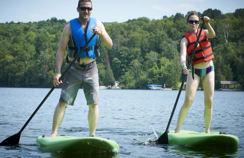 Paddle board at Deerstalker Resort.