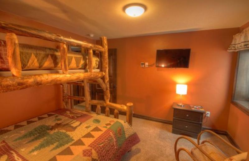 Vacation rental bunk room at SkyRun Vacation Rentals - Vail, Colorado.