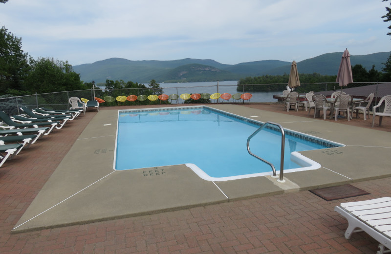 Outdoor pool at Contessa Resort.