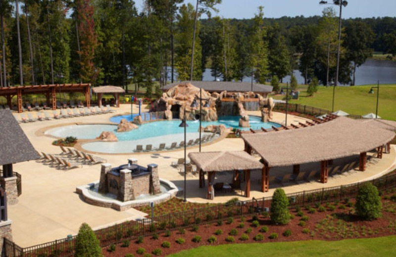 Outdoor pool at Auburn Marriott Opelika Hotel & Conference Center.