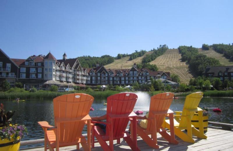 Relaxing at Blue Mountain Resort