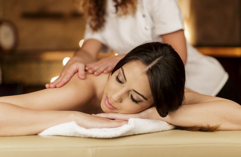 Massage at Pier South Resort.