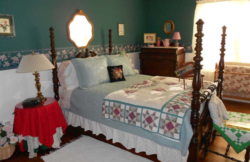 Guest room at Selvig House Bed & Breakfast.