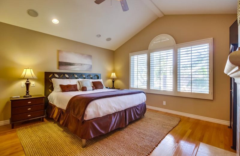 Guest Bedroom at Bluewater Vacation Homes