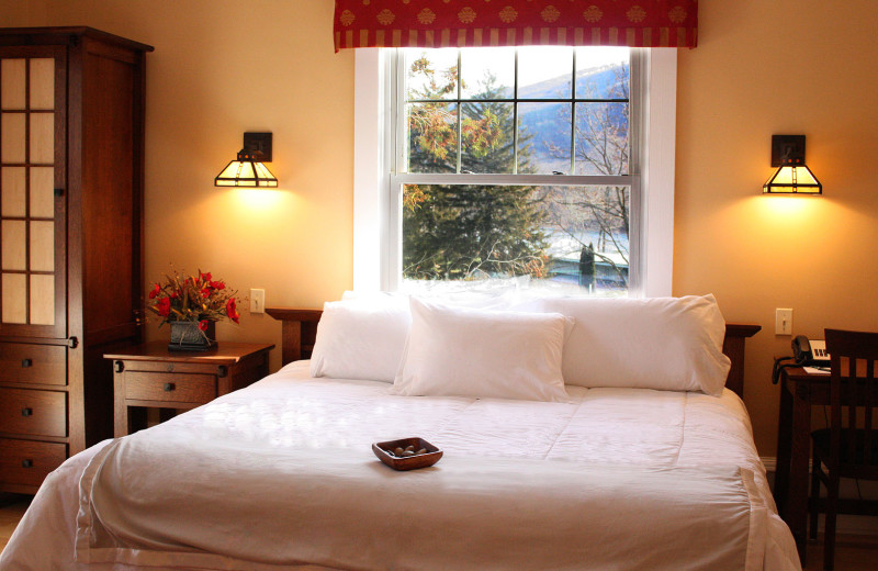 Guest room at Shawnee Inn and Golf Resort.