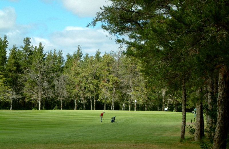 Golf course at Northern Greens Resort and Conference Centre.