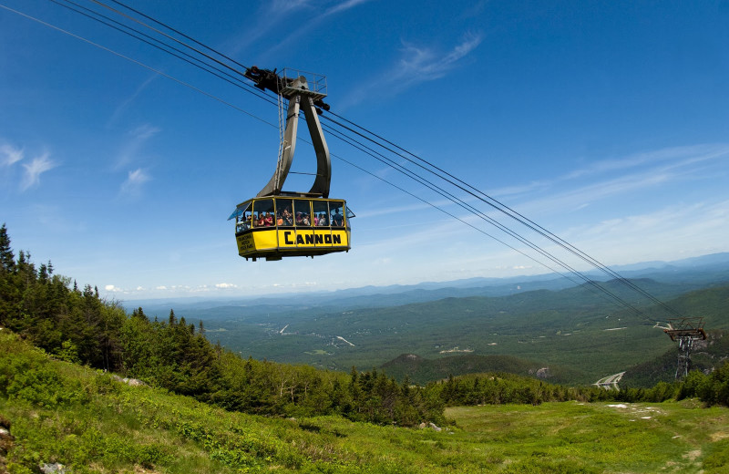 Gondola at Mountain View Grand Resort.